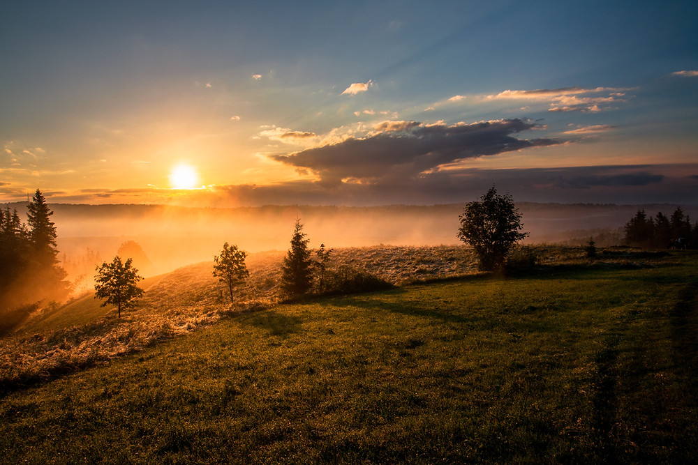 Photo (Hopeful Horizon) by Dawid Zawiła on Unsplash