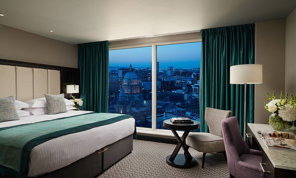 One Night Belfast City Break for Two at the Luxury Grand Central Hotel