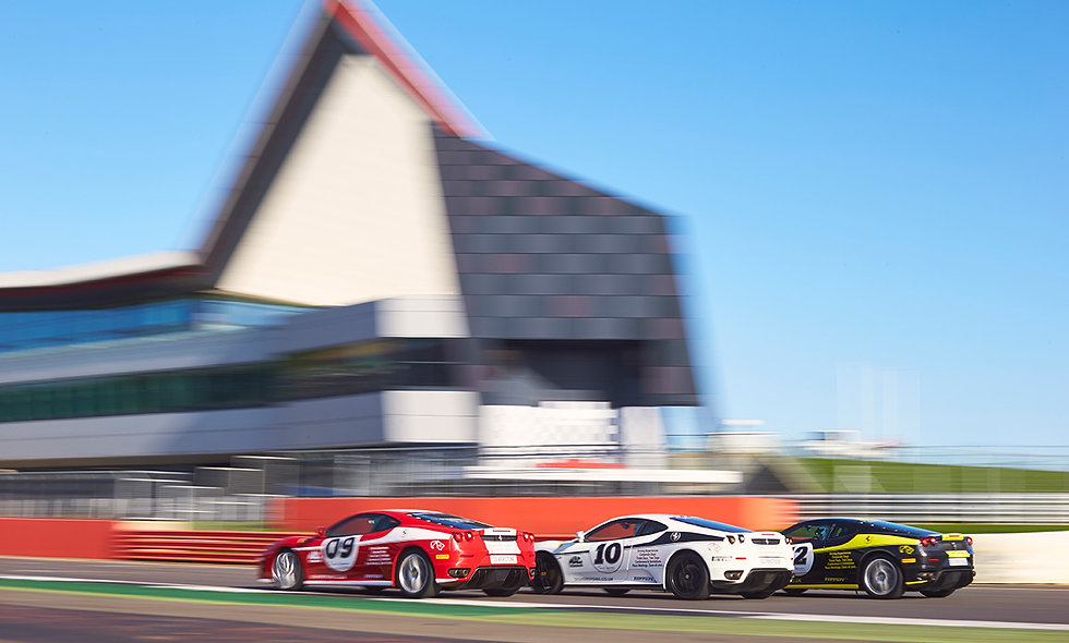 Silverstone Ferrari Experience - Morning