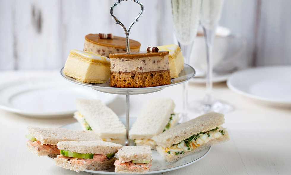 Sparkling Afternoon Tea for Two at Formby Hall Golf Resort