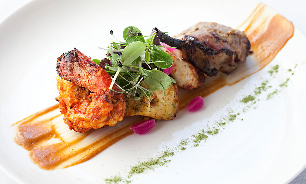 Three Course Lunch with Prosecco for Two at Indian Essence