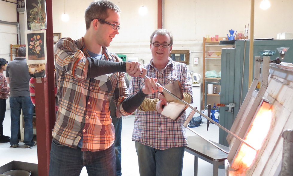 Full Day Glass Blowing Workshop