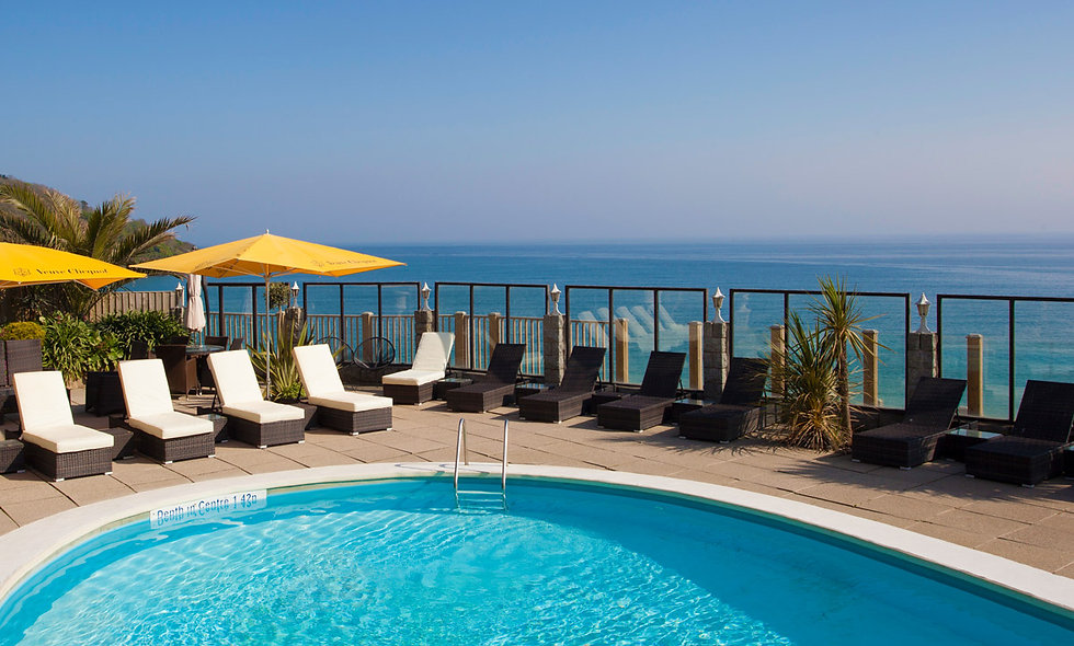 One Night Luxury Coastal Retreat for Two at the Carbis Bay Hotel