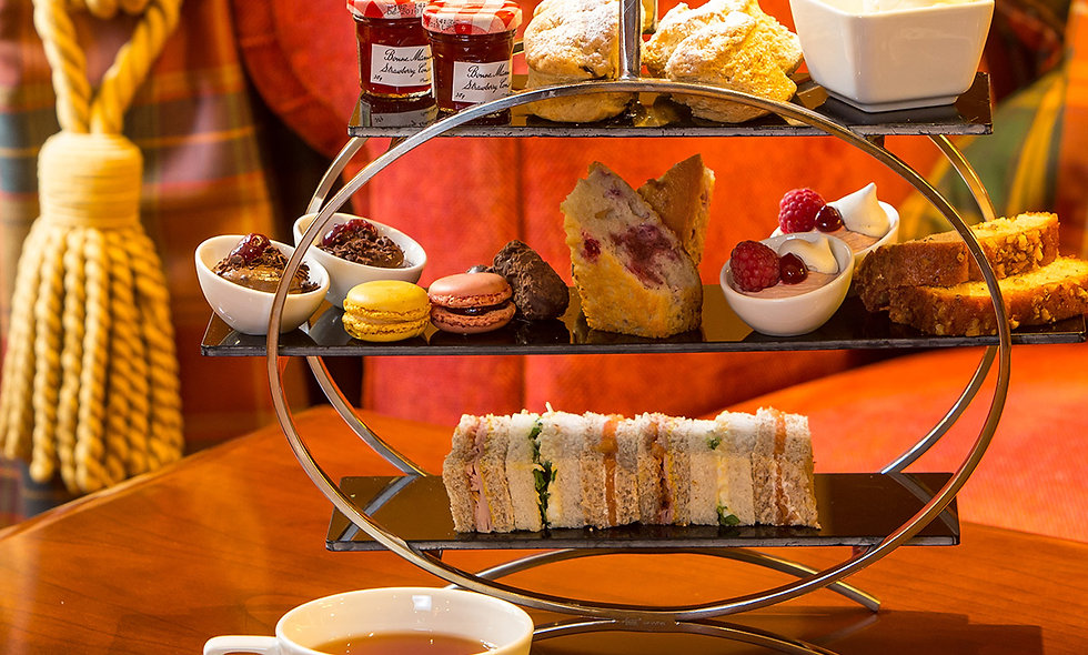 Afternoon Tea for Two at the Dalmahoy Hotel & Coun