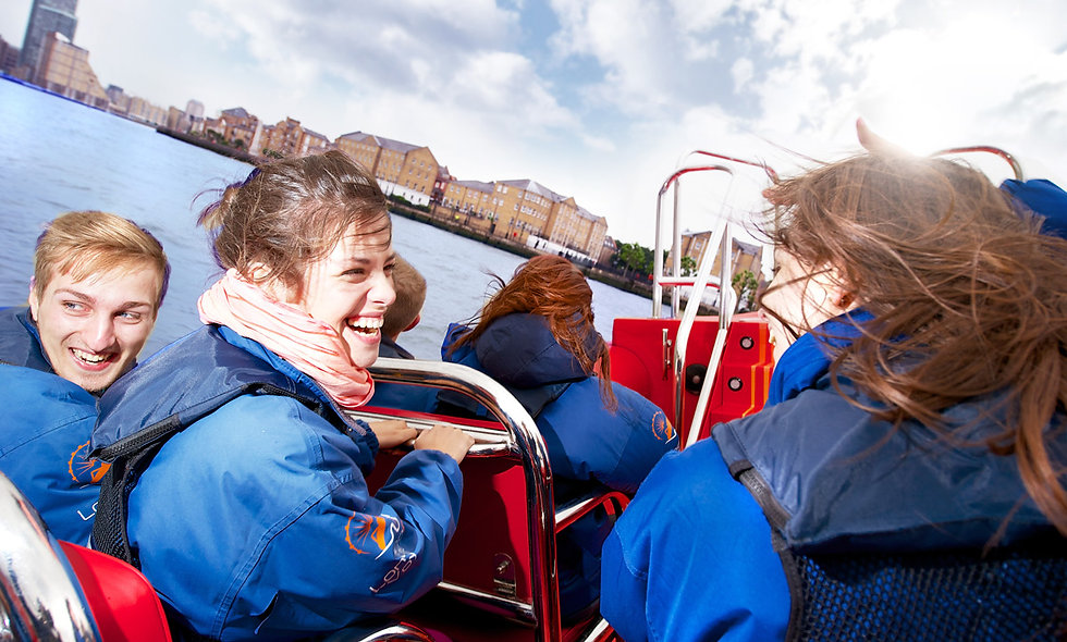 Thames Rockets London Speed Boat Taster for Two