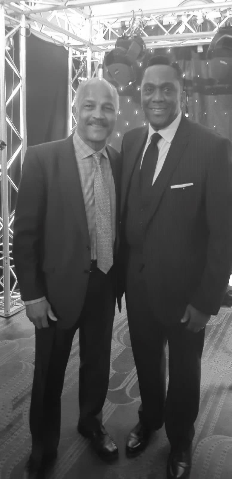 Boxing legend John Conteh MBE
