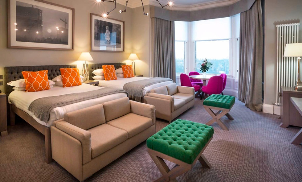 One Night Boutique Break with Dinner for Two at The Bonham Hotel