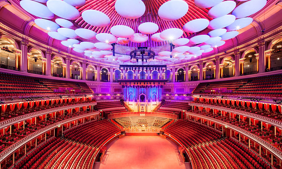 Royal Albert Hall Tour and Three Course Lunch with Wine