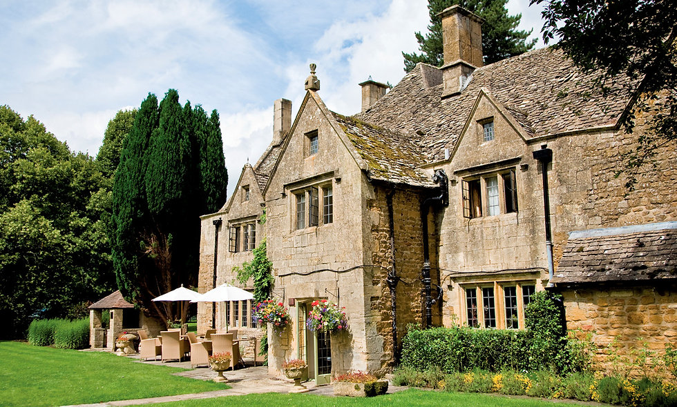 Champagne Afternoon Tea for Two at Charingworth Manor