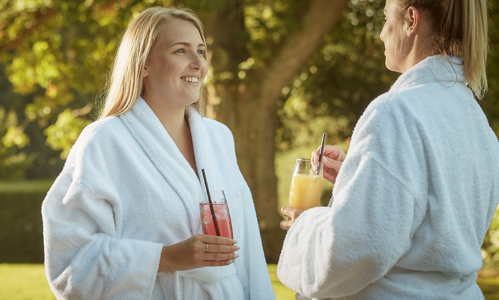 Spa Relax and Lunch for Two at The Elms Luxury Country House