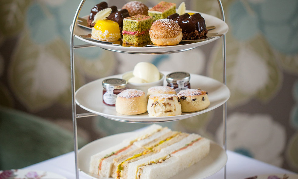 Afternoon Tea for Two at The Kings Hotel in the Pi