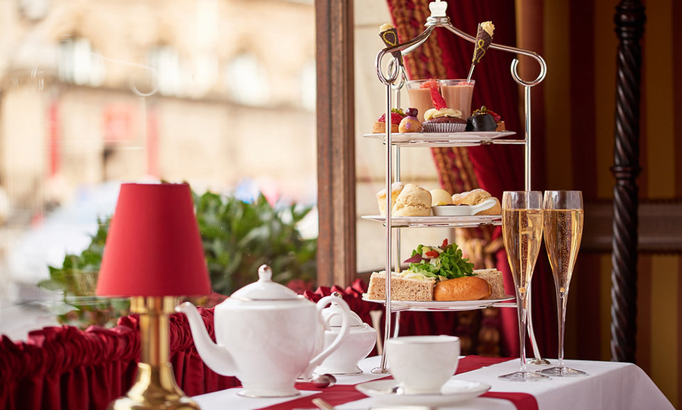 Royal Afternoon Tea for Two at the 4* Rubens at the Palace Lounge, London