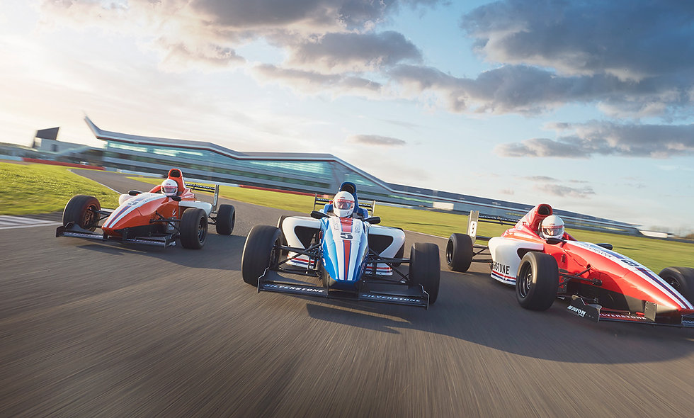 Formula Silverstone Single Seater Experience - Morning
