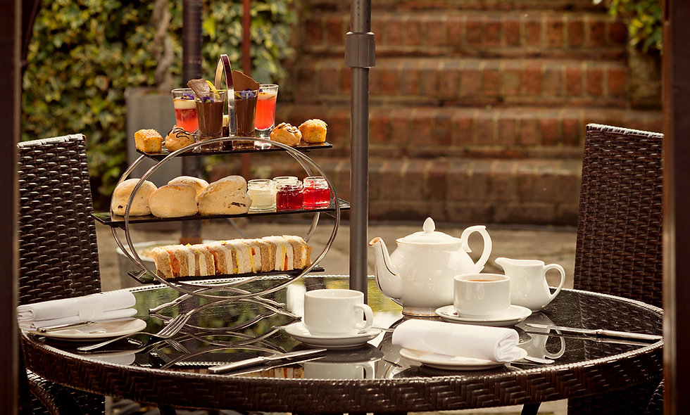 Afternoon Tea for Two at Stanwell House Boutique H