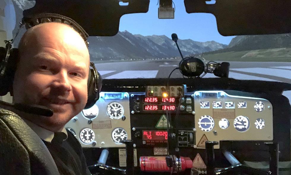 60 minute Cessna Skyhawk Flight Simulator