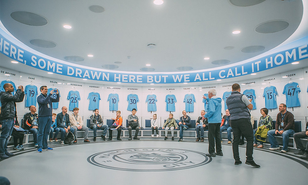 Manchester City Football Club Stadium Tour with Overnight Stay