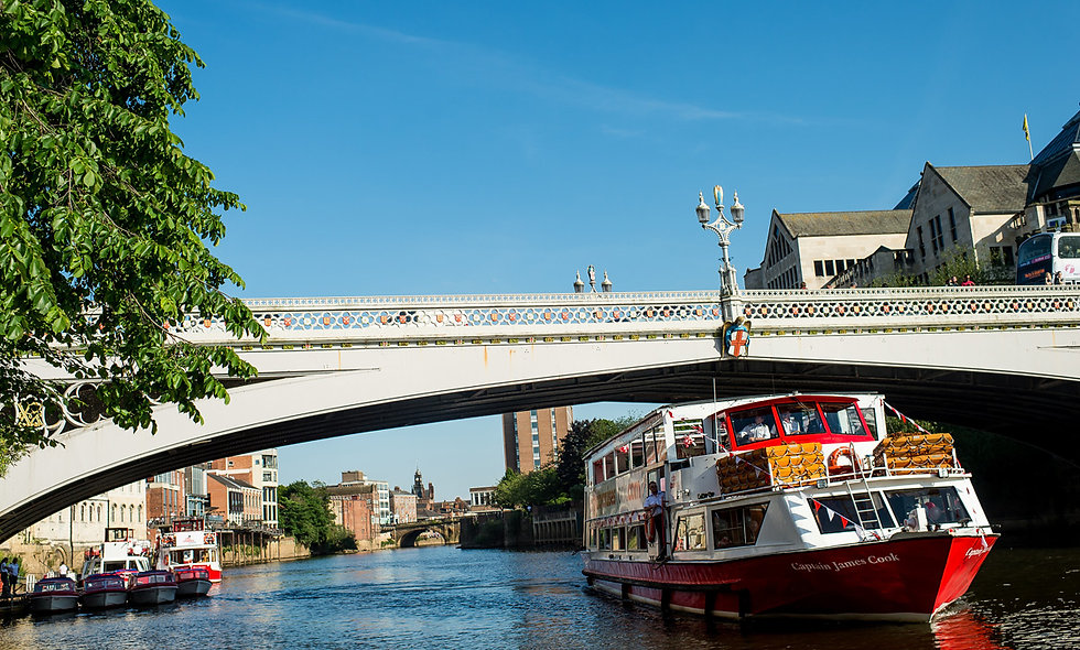 City of York Lunch Cruise for Two