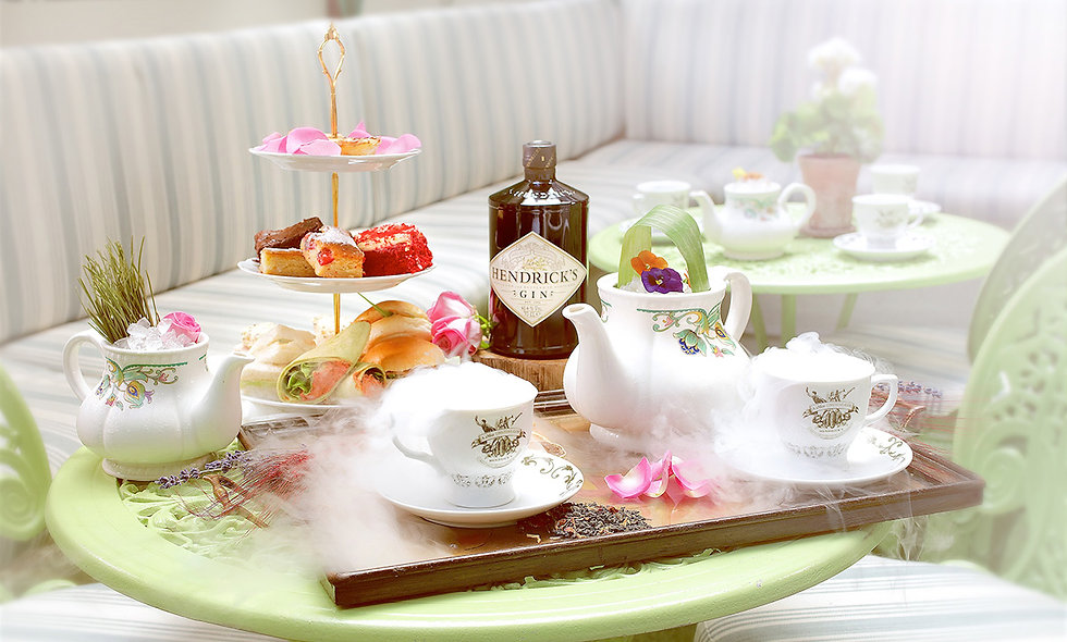 Tipsy Tea for Two at Mr Foggs Residence, Mayfair