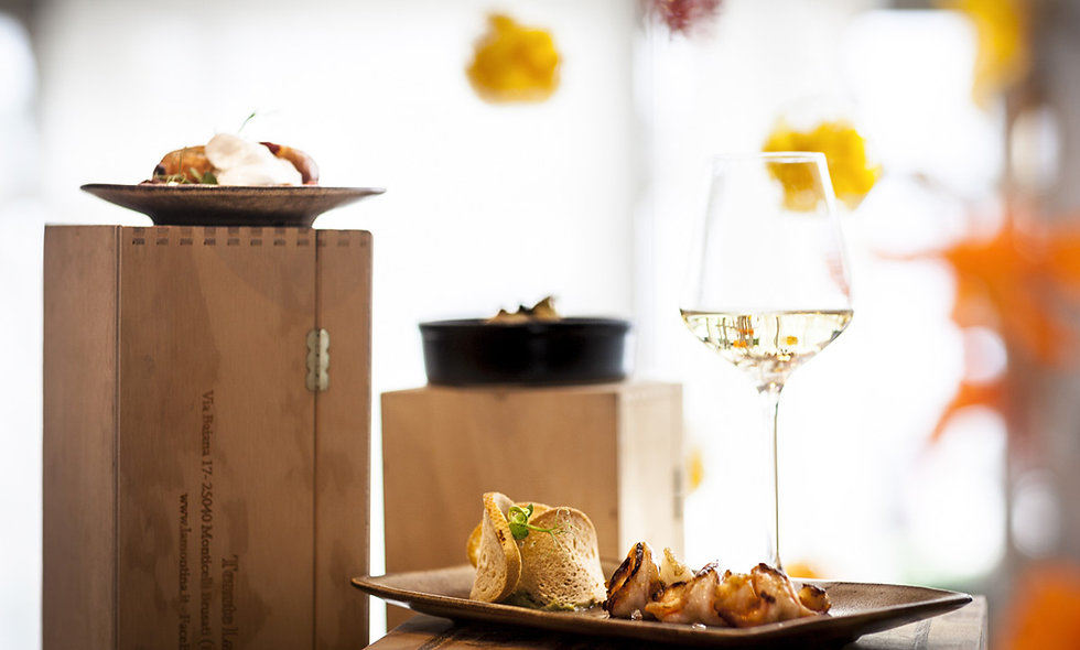 Italian Grazing Lunch and Wine for Two at Hotel Xenia