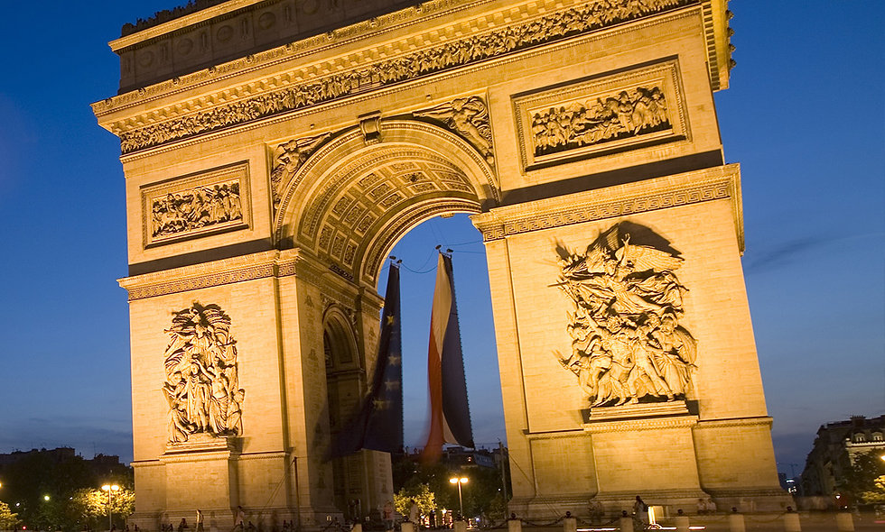 Day Trip to Paris by Eurostar with Premium Lunch for Two