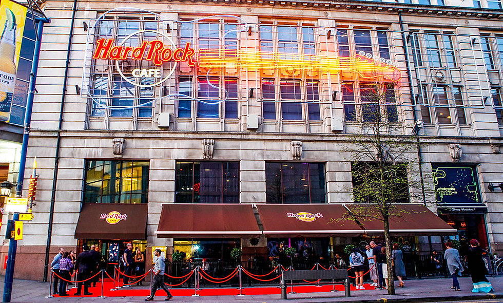 Hard Rock Cafe Manchester Dining Experience for Two