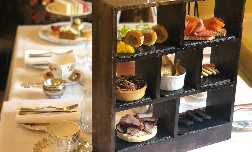 Gentlemans Afternoon Tea for Two at The Oakley Co