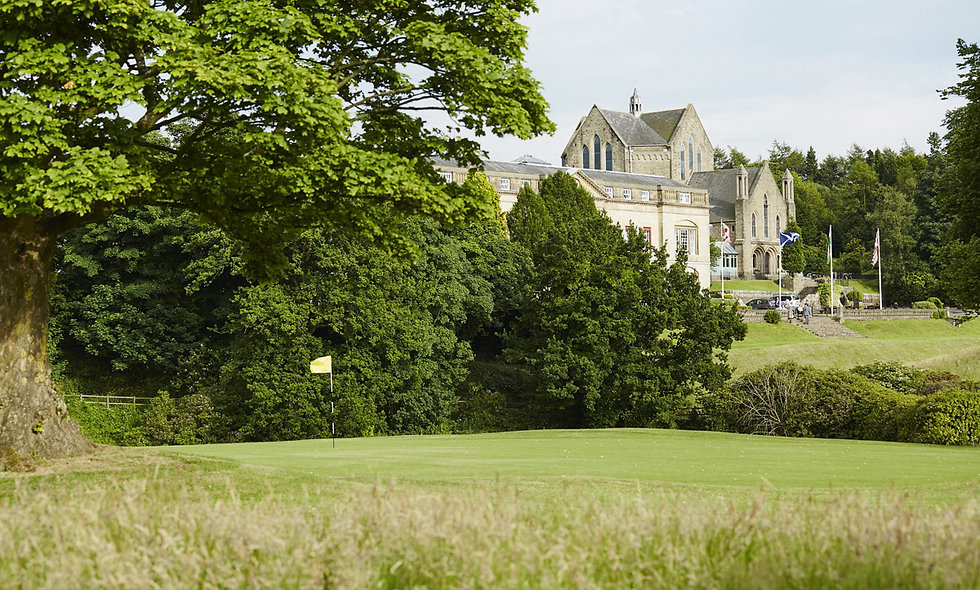 18 Hole Round of Golf for Two at The Shrigley Hall