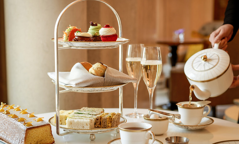 The Heritage Champagne Afternoon Tea for Two at the 5* Four Seasons Hotel