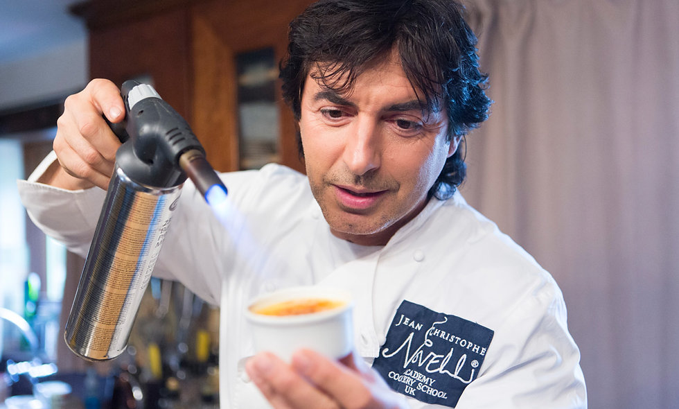 Simply Novelli Hands On Cookery Course with Jean-Christope Novelli