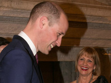 With HRH  Prince William