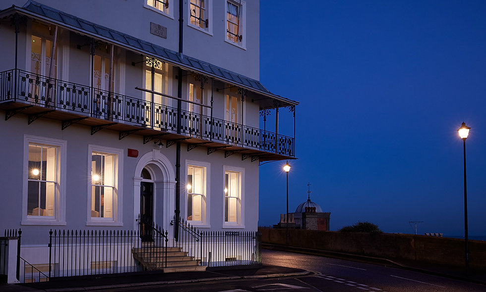 One Night Coastal Boutique Break with Dinner for Two