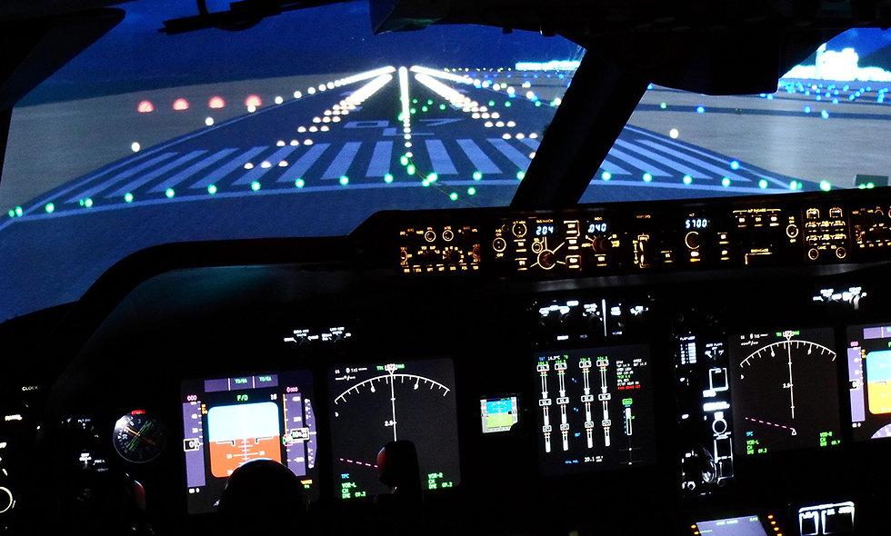 60 minute 747 Jumbo Flight Simulator
