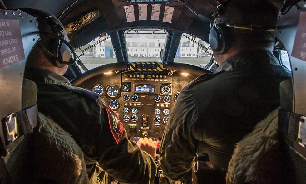 Fly the Worlds Only Vulcan Bomber Flight Simulator