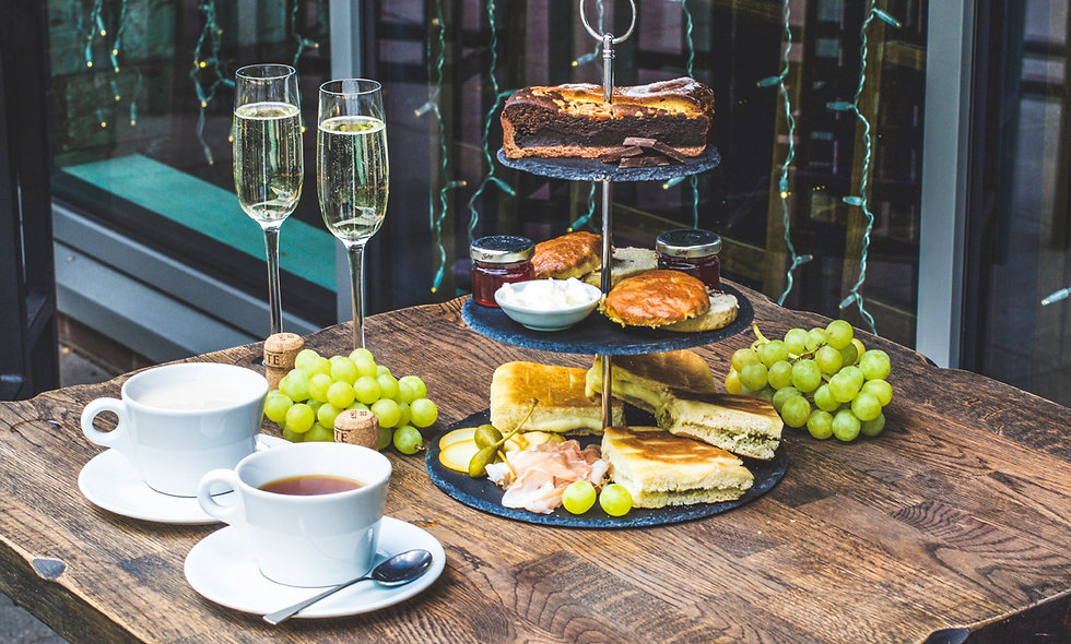 Italian Afternoon Tea with Prosecco for Two at Vee