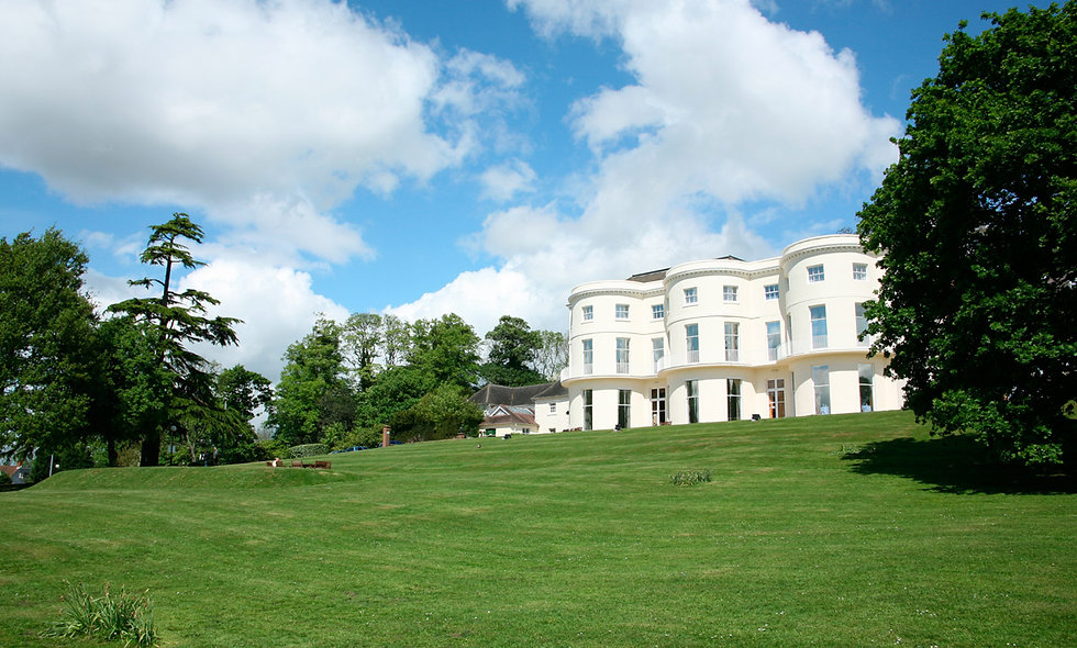 One Night Break with Dinner for Two at the Bowden Hall Hotel