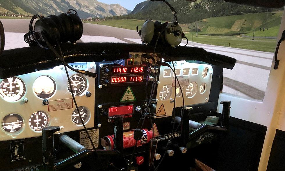 30 minute Cessna Skyhawk Flight Simulator