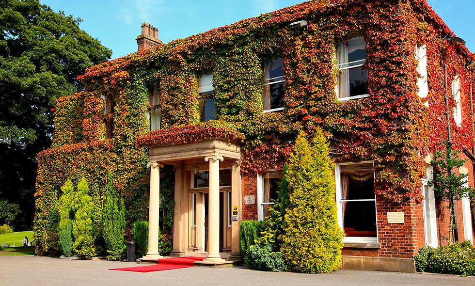 Deluxe Afternoon Tea for Two at Farington Lodge Ho