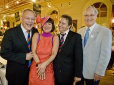With Raymond Blanc & Nicholas Parsons
