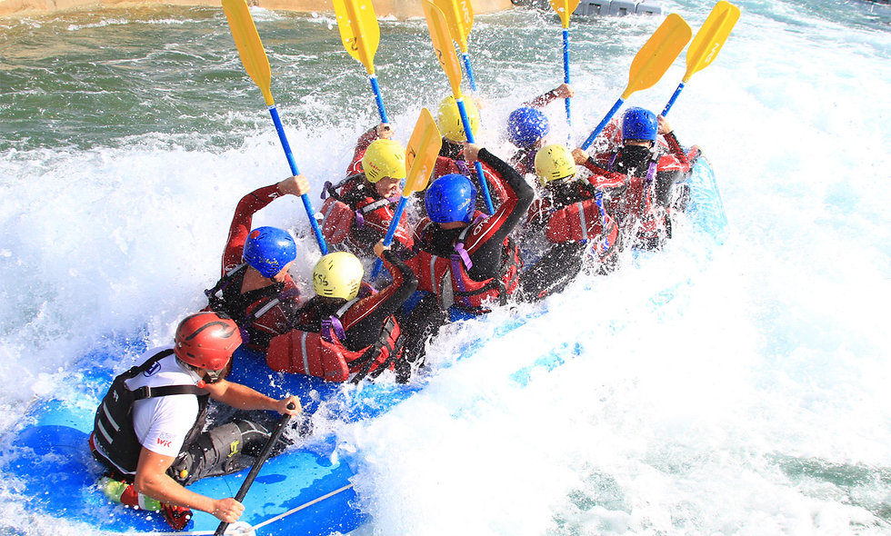 White Water Rafting on Olympic Course with Olympic Champion