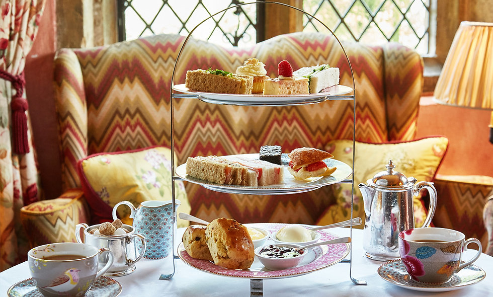 Spa Retreat and Sparkling Cream Tea for Two at Bailiffscourt Hotel