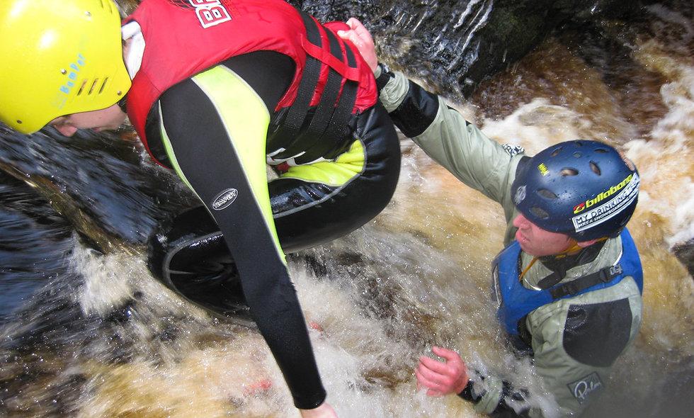 Gorge Walking in the Cairngorms National Park