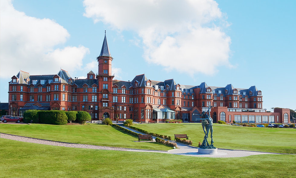 One Night Coastal Break with Dinner for Two at the Slieve Donard Resort