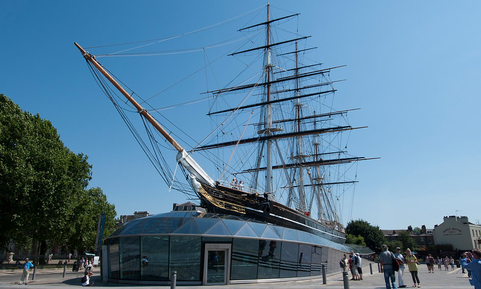 Visit to the Cutty Sark and Prosecco Afternoon Tea