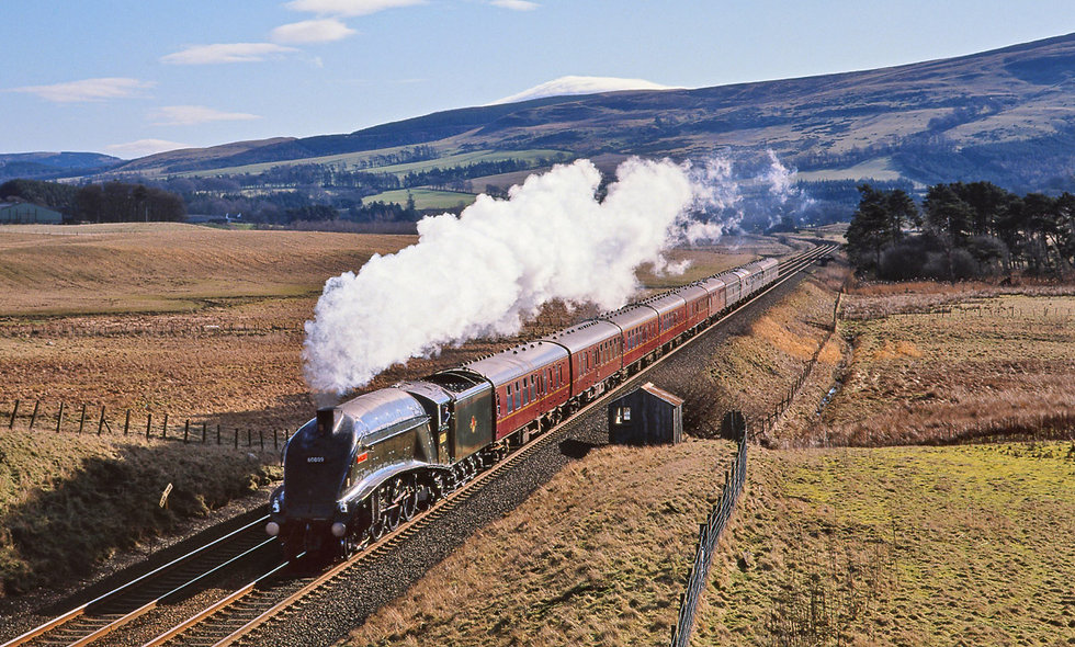 Steam Train Experience with Pullman Style Onboard Dining for Two