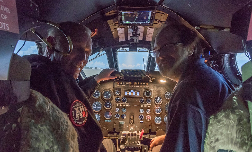 Fly the Worlds Only Vulcan Bomber Flight Simulator