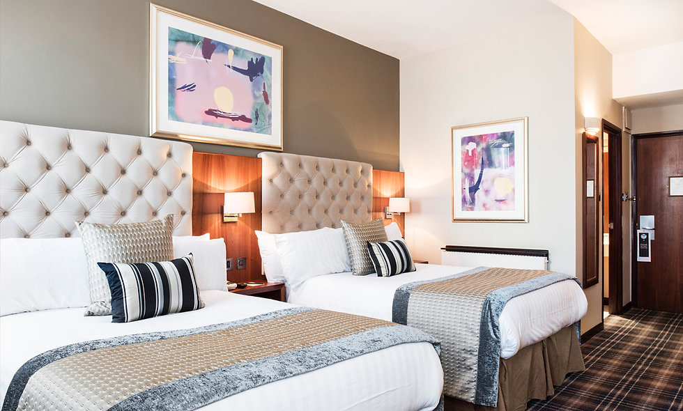 One Night Newcastle City Break for Two at the Luxury Vermont Hotel