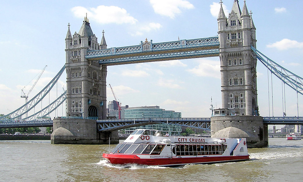 Family Thames Cruise Sightseeing River Red Rover Tickets