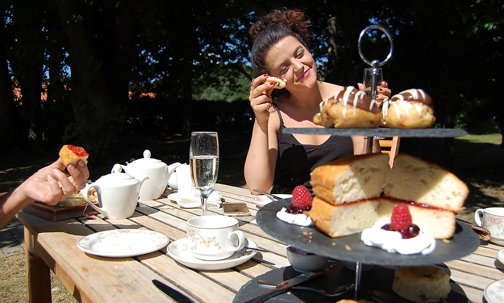 Sparkling Afternoon Tea for Two at The Grove, Norf