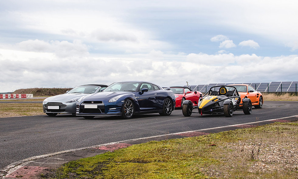 Five Supercar Thrill