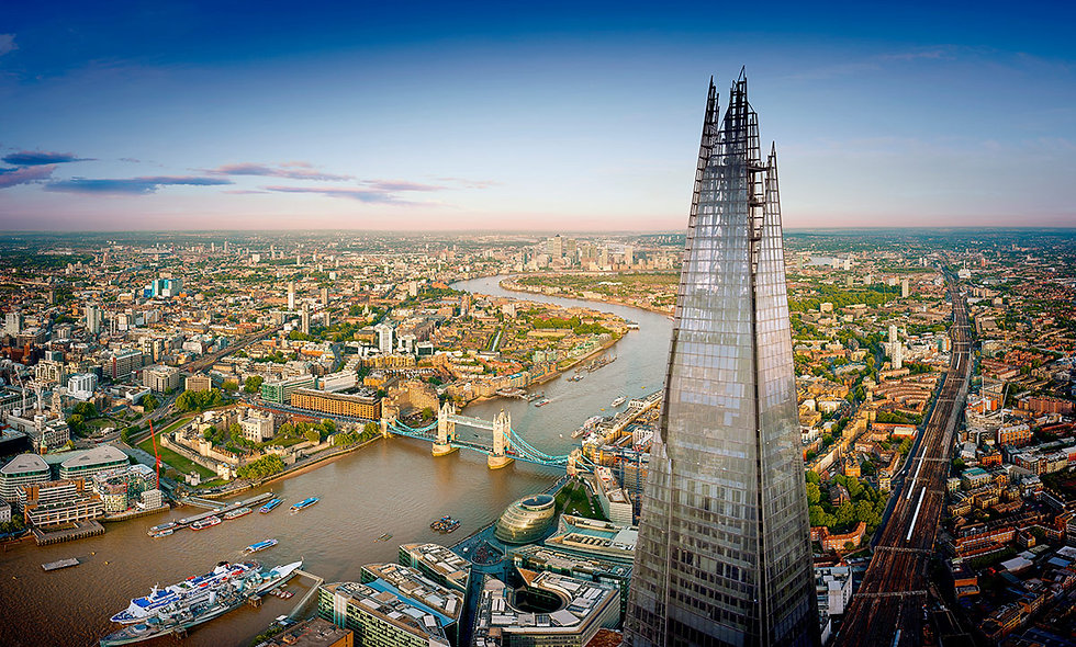 The View from The Shard and Three Course Dining Experience